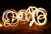 Вогняне шоу. піротехнічне шоу - театр вогню SEMARGL