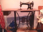 Антикварна швейна машинка