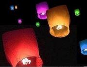Небесні ліхтарики (Тернопіль) небесные фонарики,  воздушные фонарики
