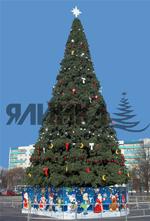 самая большая елка искусственная