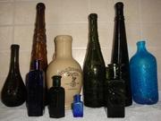 Куплю старовинні пляшки, монети, ікони.