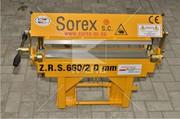 Ручной гибочный станок Sorex ZRS 660