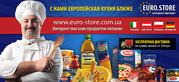 Продукты питания из Италии,  Польши,  Австрии и других стран Европы.
