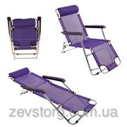 Шезлонг-кресло фиолет