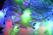 Новогодняя гирлянда елочкой