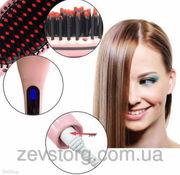 Расческа выпрямитель для волос Fast Hair Straightener HQT-906