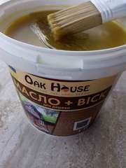 Масло-воск для дерева Oak House
